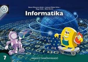 Informatika 7 tankönyv borítója