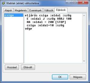 csiga_eljaras